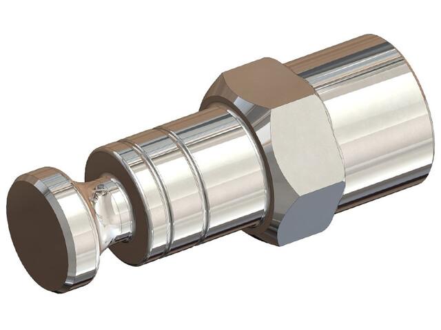 Croozer Click & Crooz Achsmutterkupplung XL FG 10,5 silber